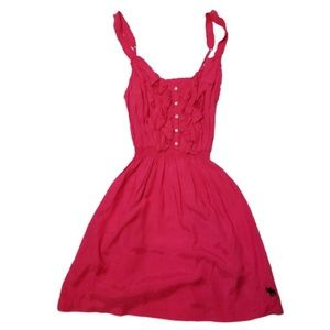 Abercrombie & Fitch Ruffle Sundress